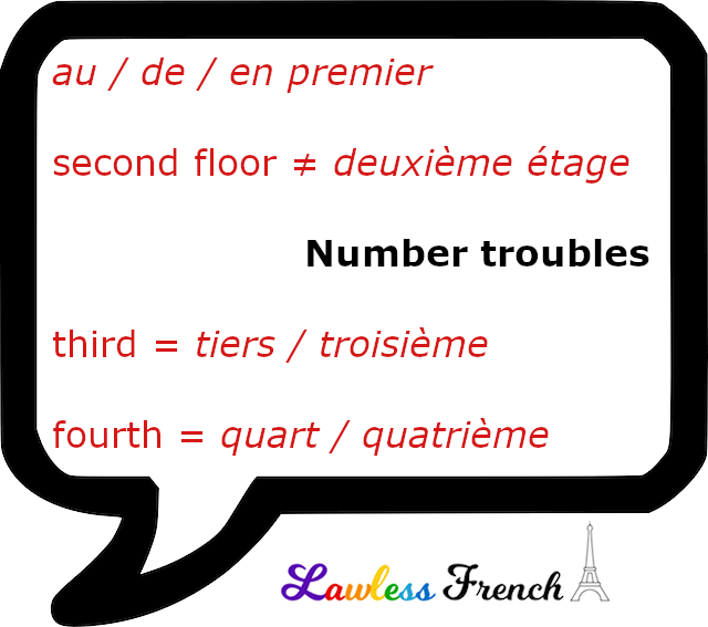 French number difficulties