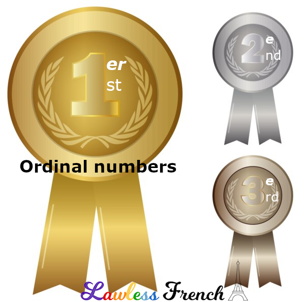 French Ordinal Numbers - Lawless French Vocabulary