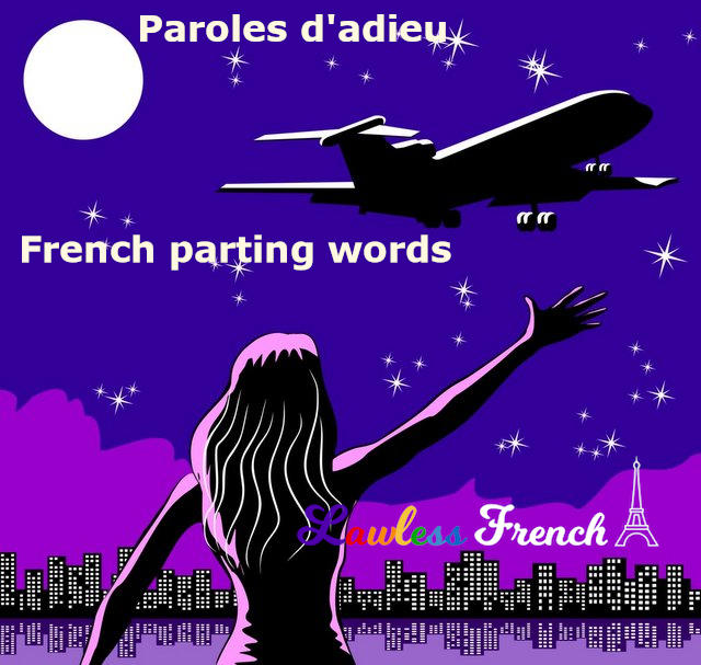 Saying good-bye in French