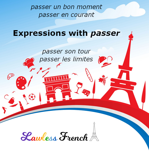 French expressions with passer