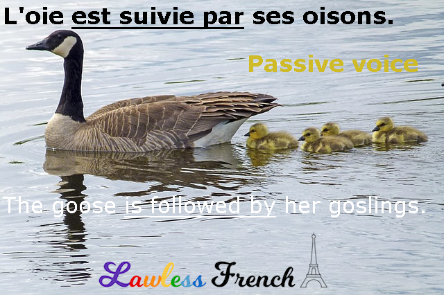 French passive voice