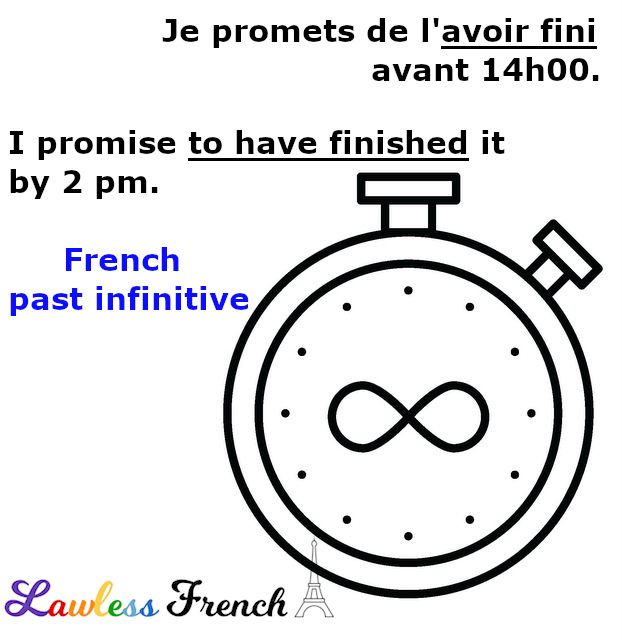 French past infinitive