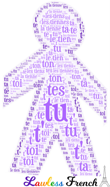 Tu te toi - French pronouns