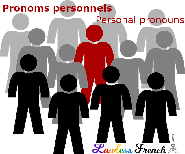 French personal pronouns