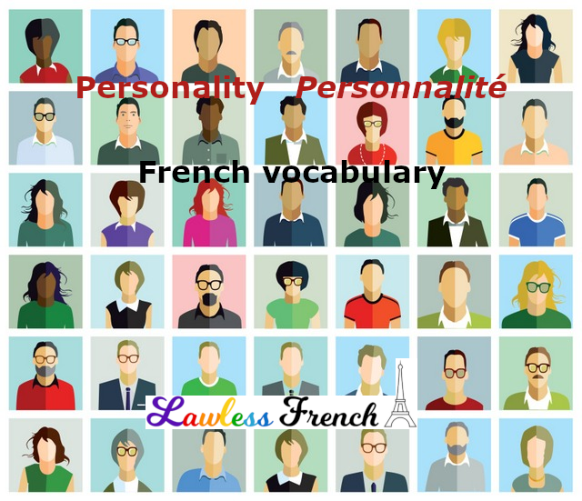 Personality in French