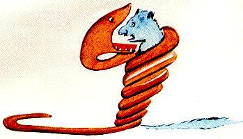 Petit Prince - le serpent