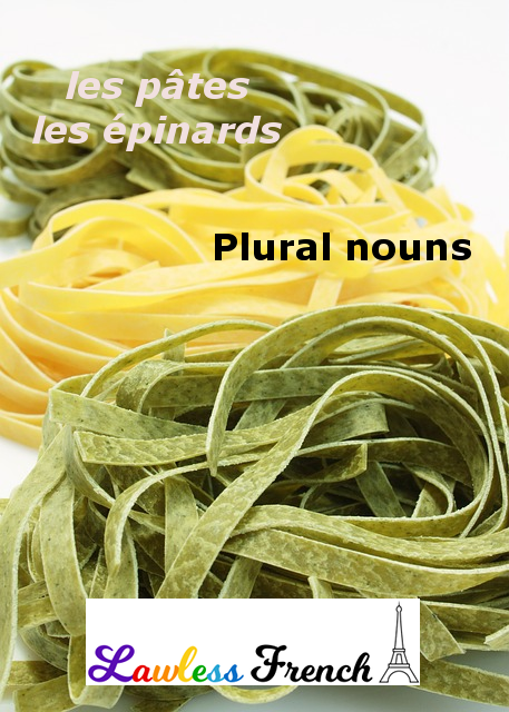 Plural French nouns
