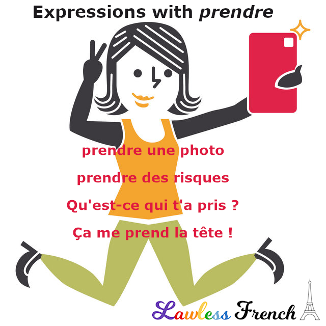 French expressions with prendre