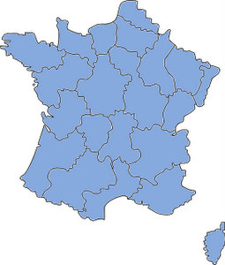 French prepositions with regions, departments, provinces, states, and counties
