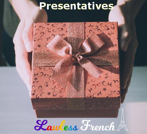 French presentatives