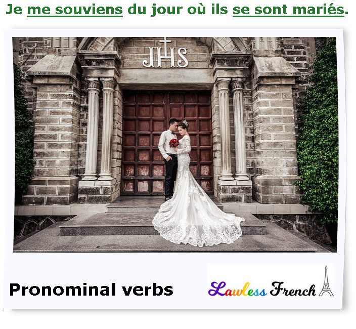 French pronominalverbs
