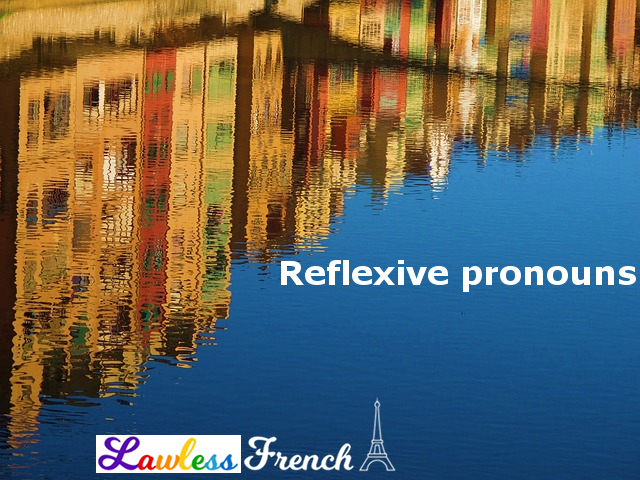 French reflexive pronouns
