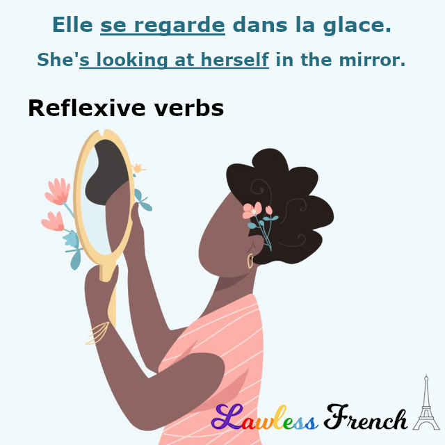 French reflexive verbs