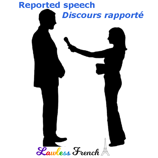 French reported speech