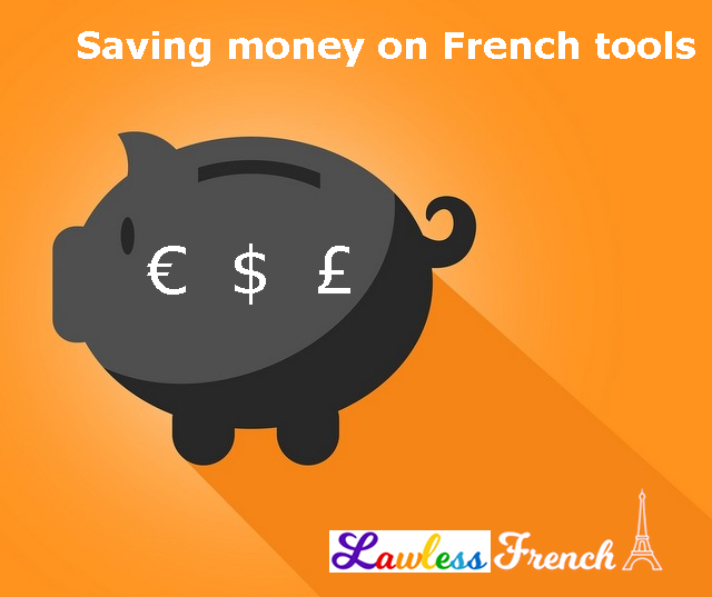 Saving money on French tools