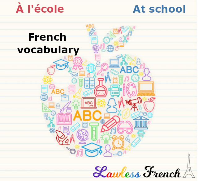 School terms in French
