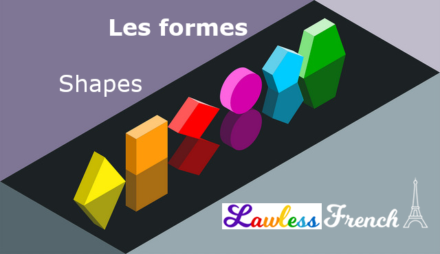 Shapes in French