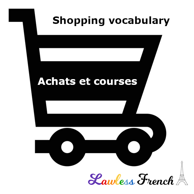 French shopping terms