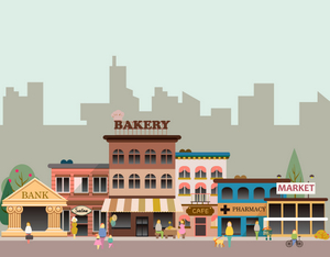 French shops and businesses