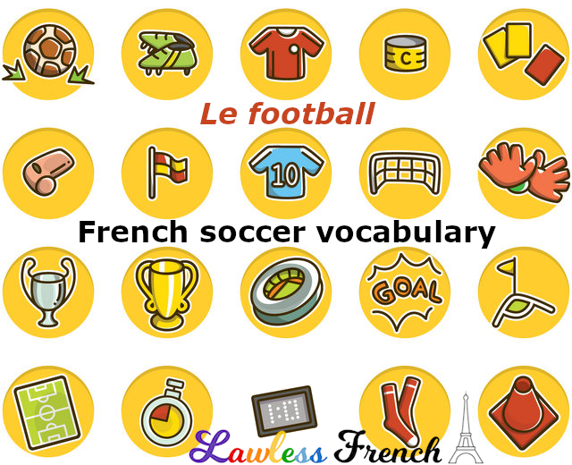 French soccer terms