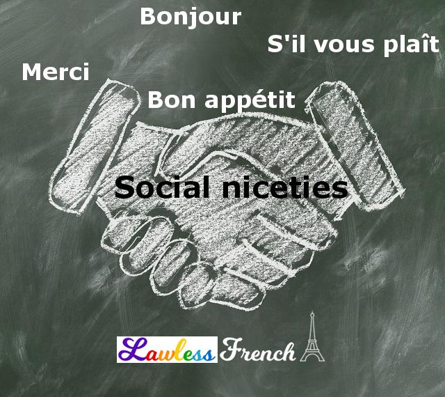 French social niceties