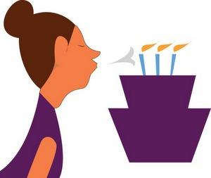 Souffler ses bougies