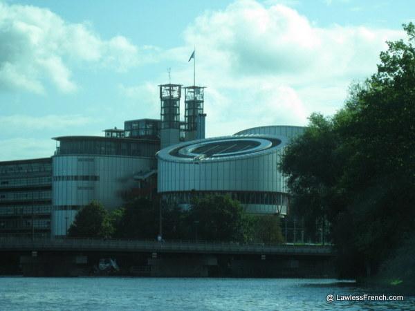 Palais des Droits de l'Homme à Strasbourg