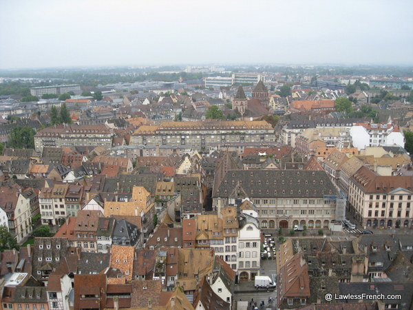 View from the Strasbourg Cathedral