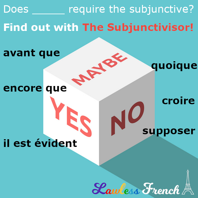 French Subjunctivisor