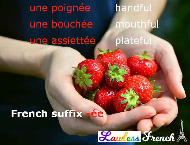 -ée French suffix