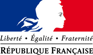 Logo of France, featuring Marianne