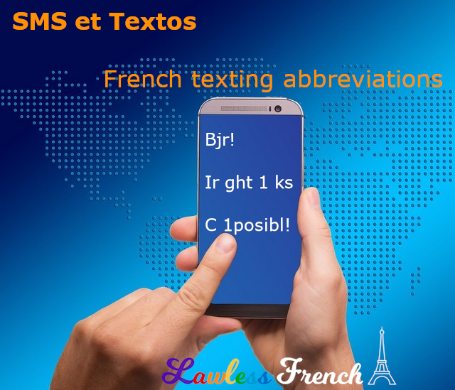 French SMS abbreviations