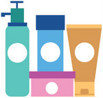 French toiletries and cosmetics