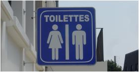Toilettes en France