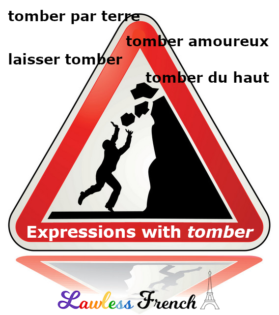 French expressions with tomber