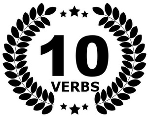 Top 10 French verbs