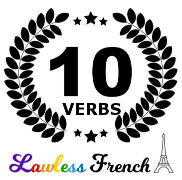 10 most common French verbs