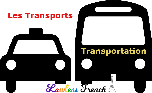 French transportation terms