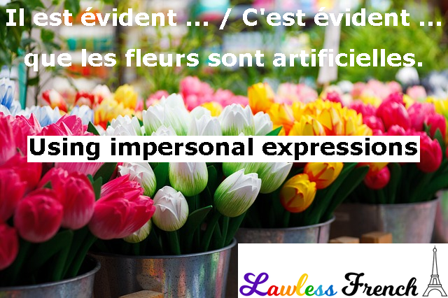 French impersonal expressions