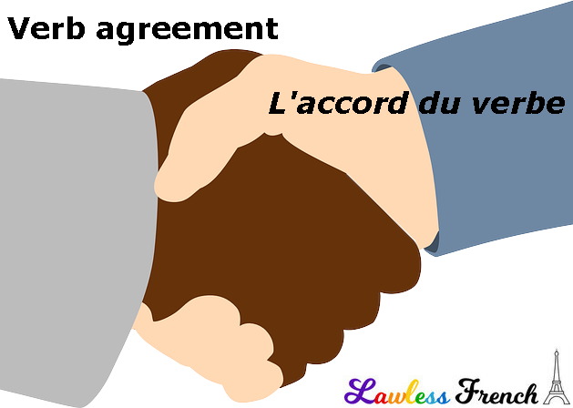 French agreement with vous
