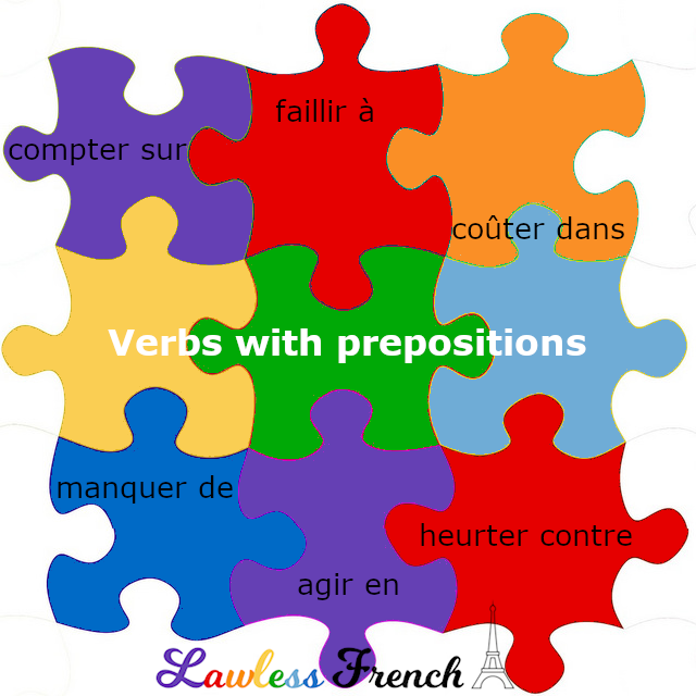 French verbs that require prepositions