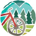Bike ride in woods