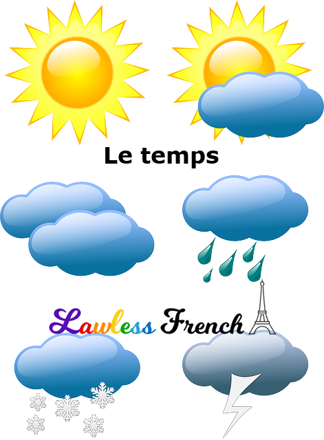 French weather terms