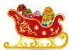 Santa's sleigh