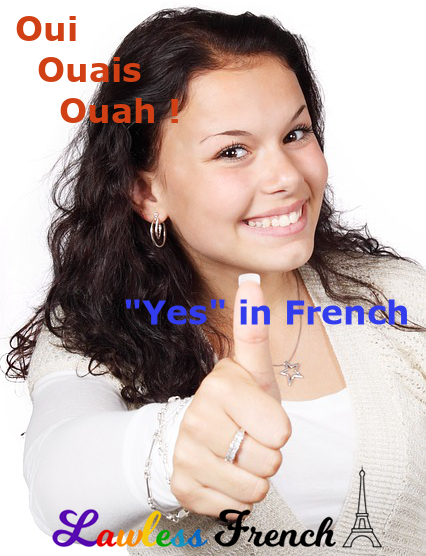 Synonyms for oui
