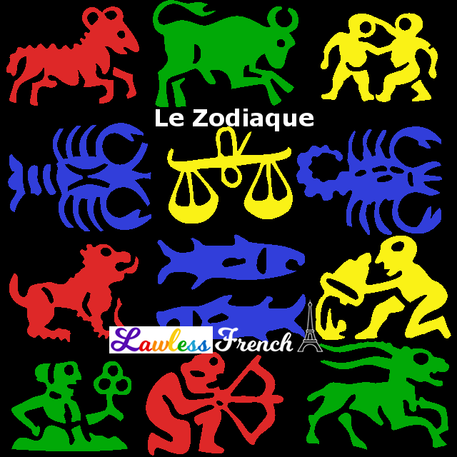 French signs of the zodiac